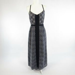 J. Crew blue sleeveless maxi dress 4